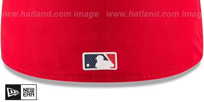 Red Sox '2018 PROLIGHT-BP' Red-Navy Fitted Hat by New Era