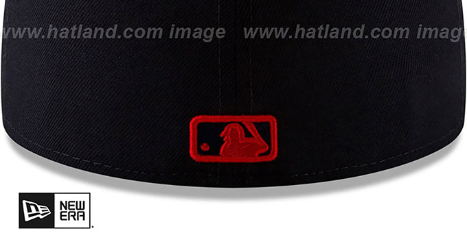 Red Sox '2019 MLB ALL-STAR ALTERNATE WORKOUT' Navy Fitted Hat by New Era