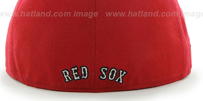 eaa1effc955e1 ... greece red sox coop caterpillar red fitted hat by 47 brand 4bd99 0f952