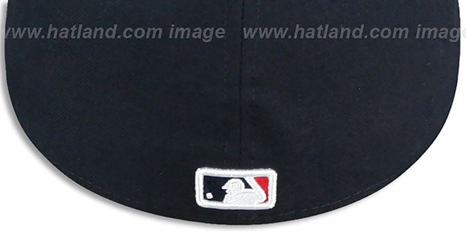 Red Sox 'REAL GRAFFITI VIZA-PRINT' Navy Fitted Hat by New Era