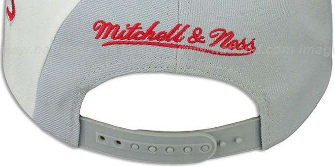 Red Wings 'TWIRL SNAPBACK' Hat by Mitchell & Ness