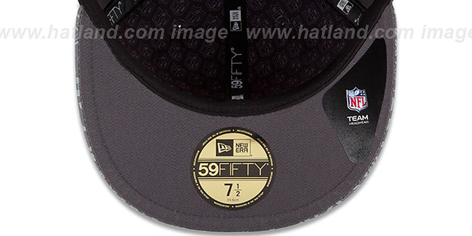 Redskins '2014 NFL DRAFT' Grey Fitted Hat by New Era