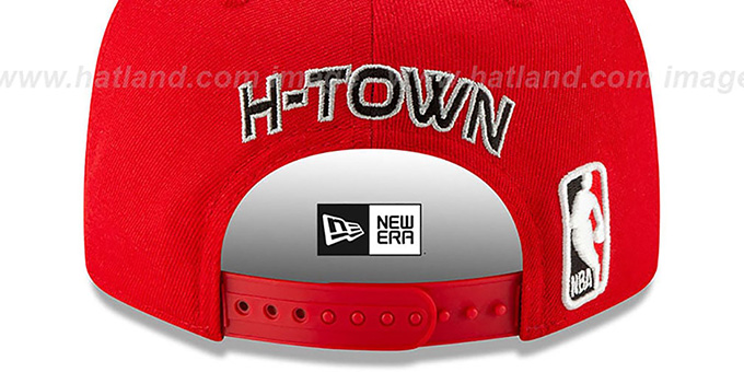 Rockets 19-20 'CITY-SERIES' ALTERNATE SNAPBACK Red Hat by New Era
