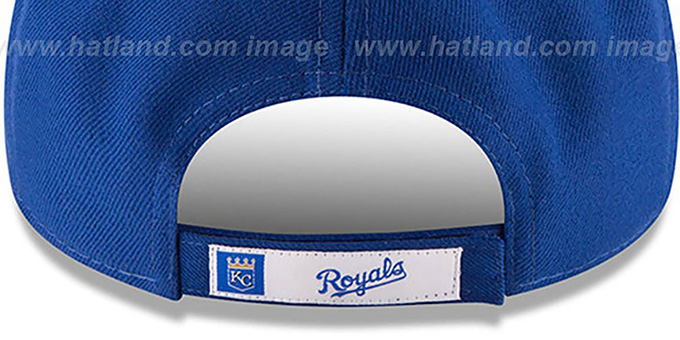 Royals 'THE-LEAGUE ALTERNATE STRAPBACK' Royal Hat by New Era