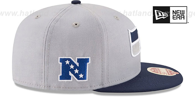 ... Seahawks  NFL WOOL-STANDARD  Grey-Navy Fitted Hat by New Era fd3b498f9ac3