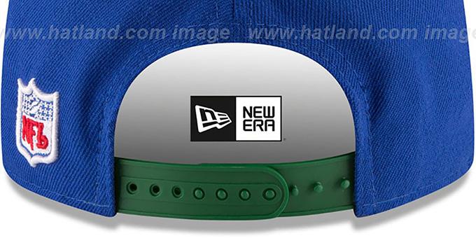 8edabbf3150661 Seattle Seahawks RETRO-BASIC SNAPBACK Royal Hat by New Era