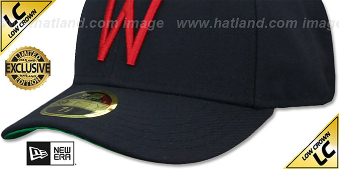 55e158bd ... denmark senators low crown 1956 60 cooperstown fitted hat by new era  e3769 670b3