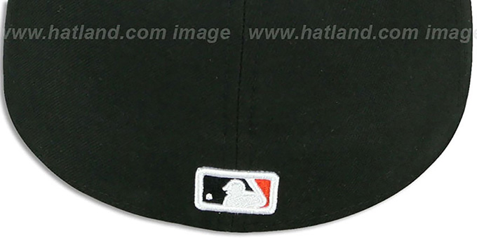 SF Giants 'REAL GRAFFITI VIZA-PRINT' Black Fitted Hat by New Era