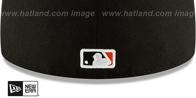 SF Giants 'TEAM-GEM' Black Fitted Hat by New Era