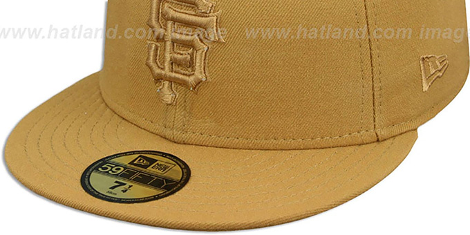 SF Giants 'WHEATOUT' Fitted Hat by New Era