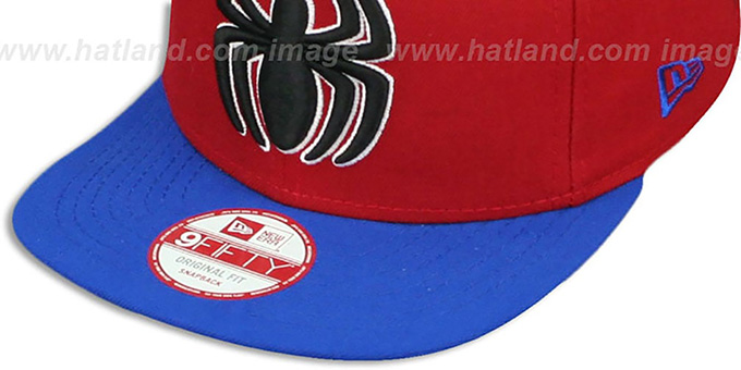 Spiderman 'QUARTER-SUB SNAPBACK' Red-Royal Hat by New Era