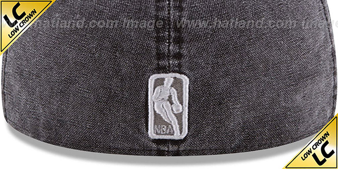 Spurs 'LOW-CROWN FADED' Black Fitted Hat by New Era