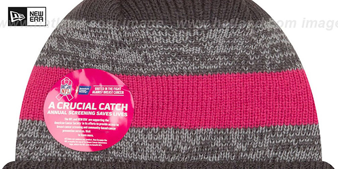 Steelers '2016 BCA STADIUM' Knit Beanie Hat by New Era