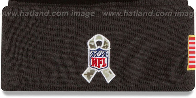 Steelers '2016 SALUTE-TO-SERVICE' Knit Beanie Hat by New Era