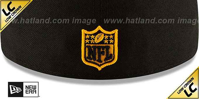 Steelers 'LOW-CROWN ALT 2020 NFL VIRTUAL DRAFT' Black Fitted Hat by New Era