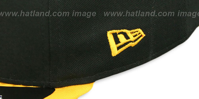 Steelers 'RALLYMARK SNAPBACK' Black-Gold Hat by New Era