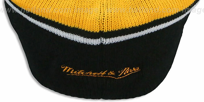 Steelers 'RERUN KNIT BEANIE' by Mitchell and Ness