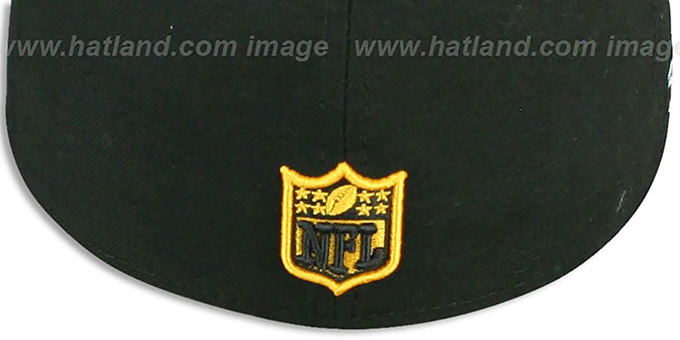 Steelers 'SUPER BOWL XIV' Black Fitted Hat by New Era
