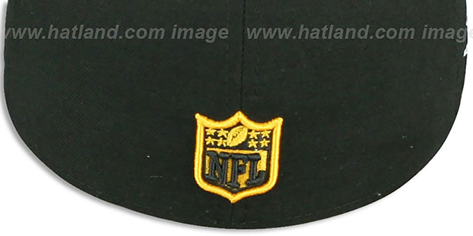 Steelers 'SUPER BOWL XLIII' Black Fitted Hat by New Era