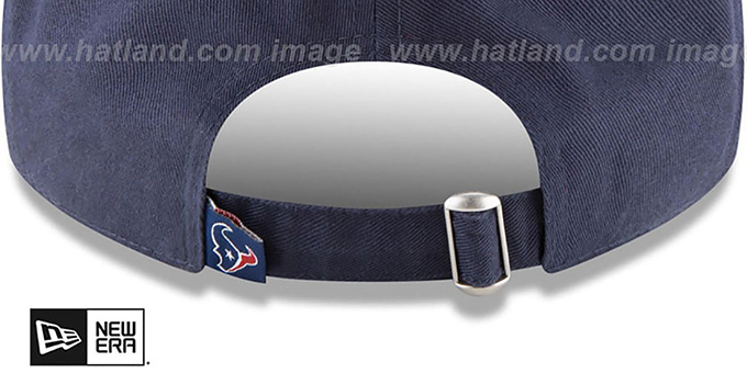 Texans 'CORE-CLASSIC STRAPBACK' Navy Hat by New Era