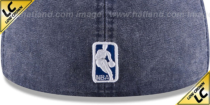 Thunder 'LOW-CROWN FADED' Navy Fitted Hat by New Era