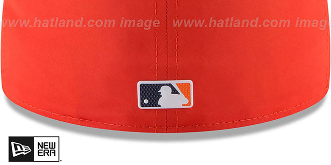 Tigers '2018 PROLIGHT-BP' ROAD Orange-Navy Fitted Hat by New Era
