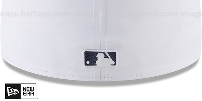 Tigers '2018 PROLIGHT-BP' White-Navy Fitted Hat by New Era