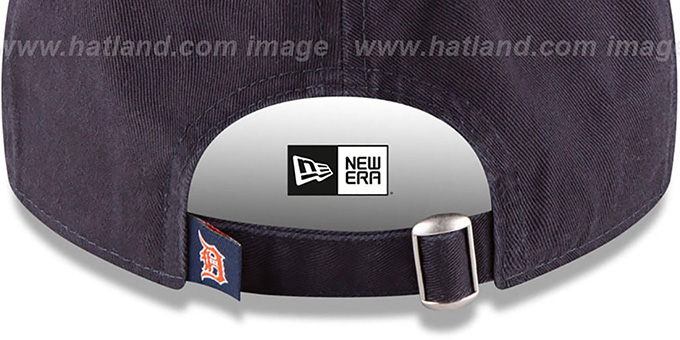 Tigers 'CORE-CLASSIC STRAPBACK' Navy Hat by New Era