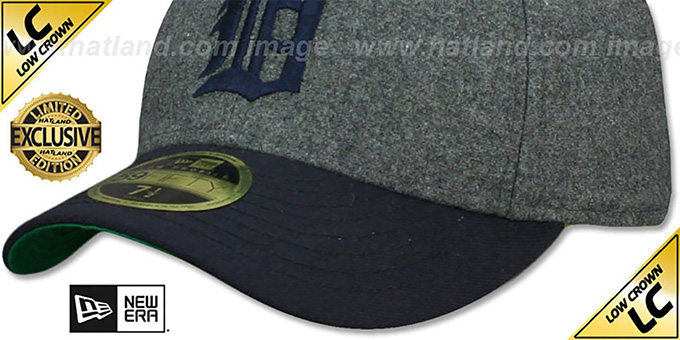 purchase cheap 58b7b 03d2e ... shopping tigers low crown 1935 cooperstown fitted hat by new era 13686  658dc