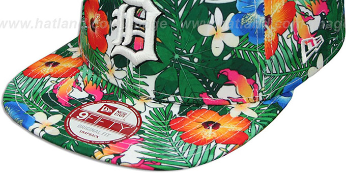 Tigers 'SUNSHINE BLOOM SNAPBACK' Hat by New Era