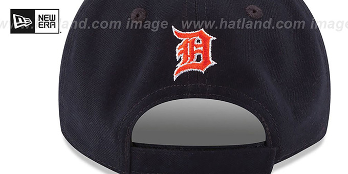 Tigers 'THE-LEAGUE STRAPBACK' White-Navy Hat by New Era