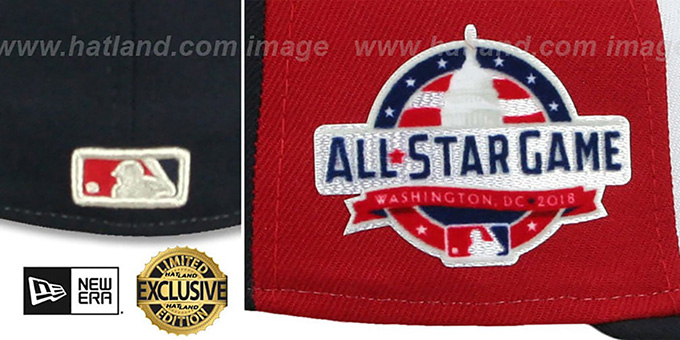 Umpire '2018 MLB ALL-STAR GAME' Fitted Hat by New Era