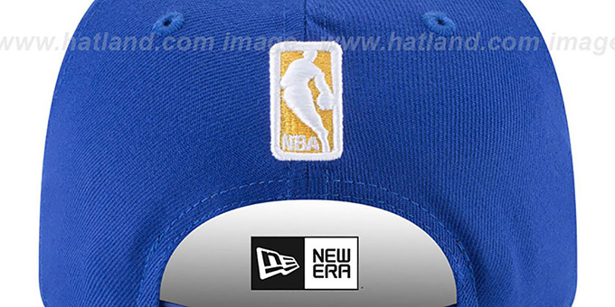 Warriors 'CLASSIC-CURVE SNAPBACK' Royal Hat by New Era
