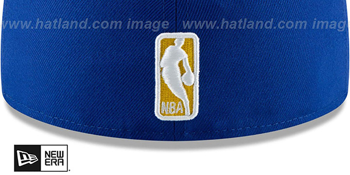 Warriors 'METAL-N-THREAD' Royal Fitted Hat by New Era