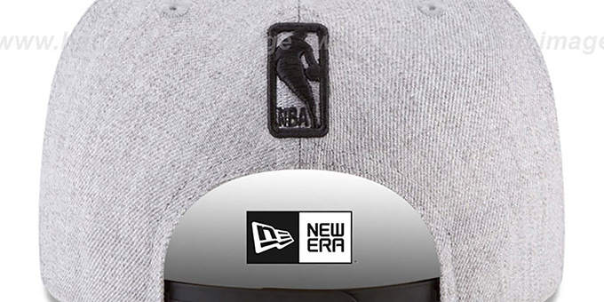 Warriors 'SILKED-XL SNAPBACK' Heather Light Grey Hat by New Era