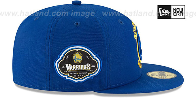 Warriors 'TEAM-SUPERB' Royal Fitted Hat by New Era