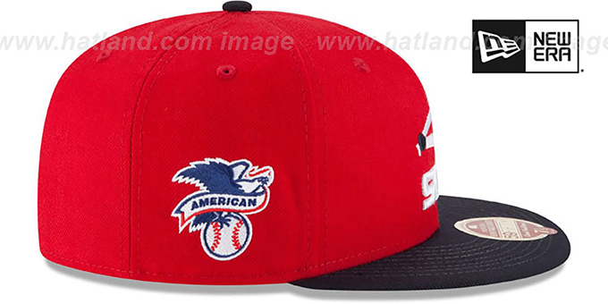 White Sox 'MLB COOPERSTOWN WOOL-STANDARD' Red-Navy Fitted Hat by New Era