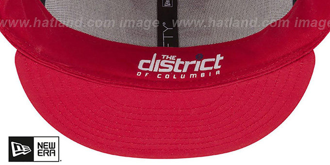 Wizards 'CITY-SERIES' White-Red Fitted Hat by New Era