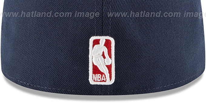 Wizards 'GRIPPING-VIZE' Navy-Grey Fitted Hat by New Era