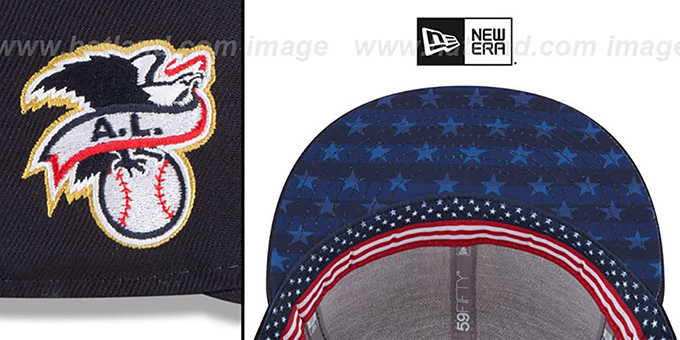New York Yankees 2018 July 4th Stars N Stripes Navy Fitted Hat