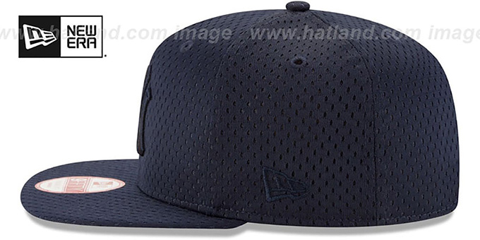 Yankees 'JERSEY MESH TONAL SNAPBACK' Navy Hat by New Era