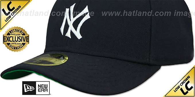 d05777e164ac1 ... Yankees  LOW-CROWN 1910 COOPERSTOWN  Fitted Hat by New Era