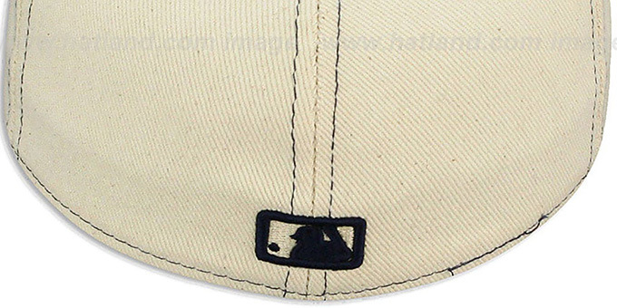 Yankees 'NATURAL DENIM2' Fitted Hat by New Era