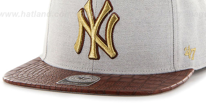 Yankees 'ORINOCO STRAPBACK' Hat by Twins 47 Brand