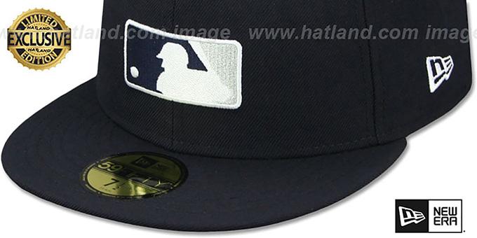 1c29e32045f New York Yankees TEAM MLB UMPIRE Navy Hat by New Era