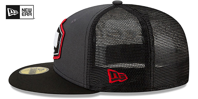 Falcons '2021 NFL TRUCKER DRAFT' Fitted Hat by New Era